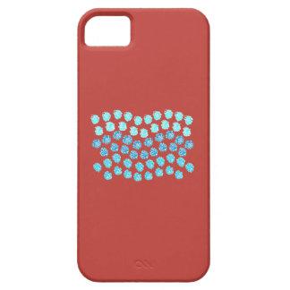 Capa Barely There Para iPhone 5 O azul acena mal lá o caso do iPhone 5/5s/SE