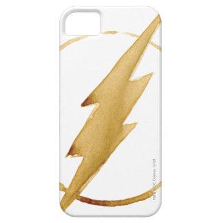 Capa Barely There Para iPhone 5 O emblema | amarelo instantâneo da caixa