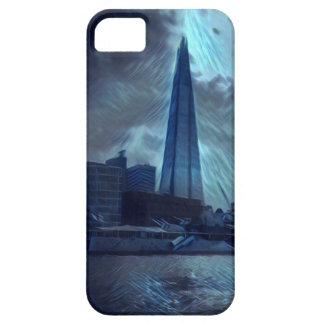 Capa Barely There Para iPhone 5 O estilhaço Londres/elétrico