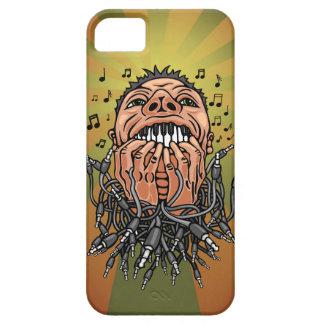 Capa Barely There Para iPhone 5 o músico joga em seus dentes como no teclado