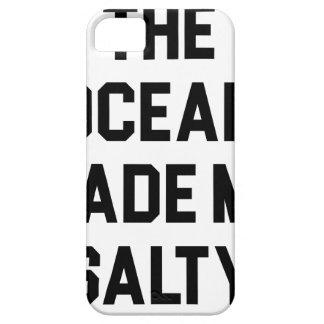 Capa Barely There Para iPhone 5 O oceano fez-me salgado