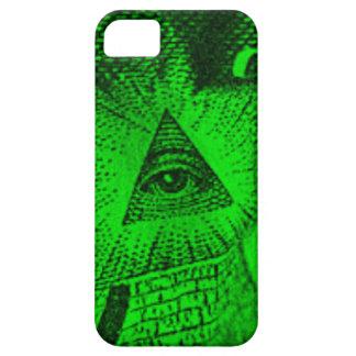 Capa Barely There Para iPhone 5 O olho de Illuminati