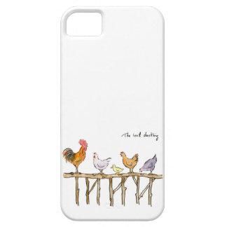 Capa Barely There Para iPhone 5 O patinho, as galinhas e o patinho perdidos