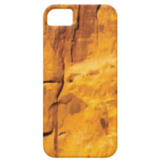 Capa Barely There Para iPhone 5 o sol dourado beijou a pedra