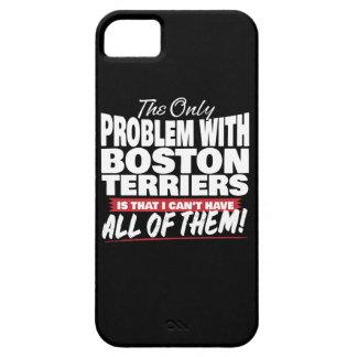 Capa Barely There Para iPhone 5 O único problema com terrier de Boston
