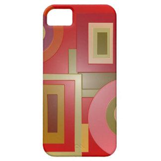 Capa Barely There Para iPhone 5 o vermelho dá forma ao pop art