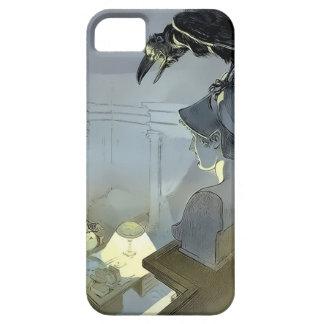 Capa Barely There Para iPhone 5 Olhado pelo corvo