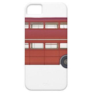 Capa Barely There Para iPhone 5 Ônibus do vermelho do autocarro de dois andares