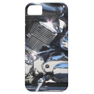 Capa Barely There Para iPhone 5 Opinião lateral cromada motocicleta do detalhe do