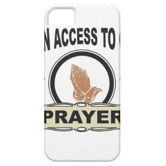 Capa Barely There Para iPhone 5 oração do acesso aberto