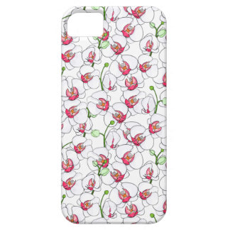 Capa Barely There Para iPhone 5 Orchids. brancos