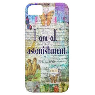 Capa Barely There Para iPhone 5 Orgulho de Jane Austen e citações do preconceito