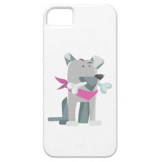 Capa Barely There Para iPhone 5 Osso de cão de Hund Knochen