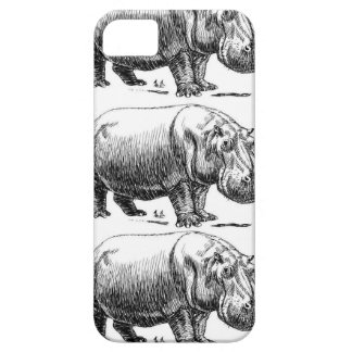 Capa Barely There Para iPhone 5 ouro do hippopotamus