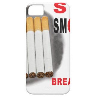 Capa Barely There Para iPhone 5 Pare de fumar lembretes - não mais bumbuns