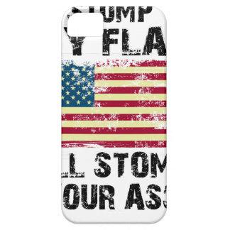 Capa Barely There Para iPhone 5 pare minha bandeira que eu stomp seu