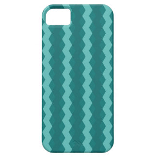 Capa Barely There Para iPhone 5 Pattern Blue Stripes - Linhas zigzag