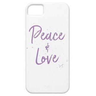 Capa Barely There Para iPhone 5 Paz-e-Amor-Roxo