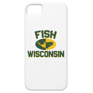 Capa Barely There Para iPhone 5 Peixes Wisconsin