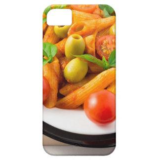 Capa Barely There Para iPhone 5 Penne italiano da massa no molho de tomate com