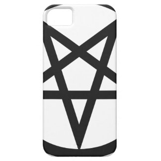 Capa Barely There Para iPhone 5 Pentagram corajoso