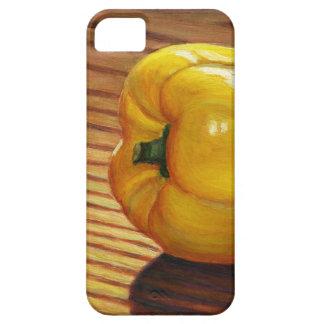 Capa Barely There Para iPhone 5 Pimenta amarela