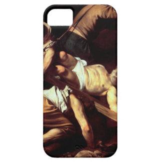 """Capa Barely There Para iPhone 5 Pintura original """"La crocifissione di s Pietro """""""