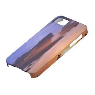 Capa Barely There Para iPhone 5 Por do sol colorido por Shirley Taylor