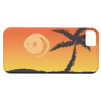 Capa Barely There Para iPhone 5 Por do sol da ilha