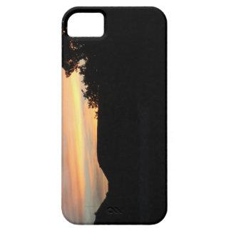 Capa Barely There Para iPhone 5 Por do sol no parque estadual de Scott do lago em