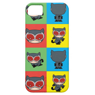 Capa Barely There Para iPhone 5 Poses do caráter da mulher-gato de Chibi