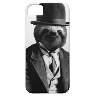 Capa Barely There Para iPhone 5 Preguiça #2 do cavalheiro