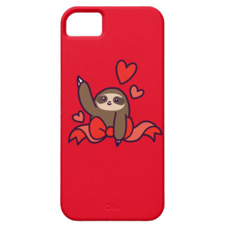 Capa Barely There Para iPhone 5 Preguiça do coração da fita