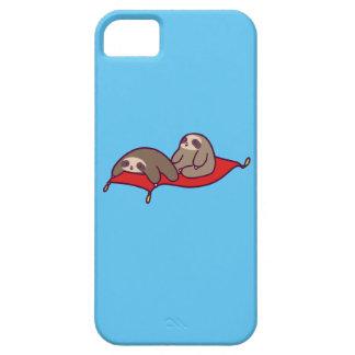Capa Barely There Para iPhone 5 Preguiças mágicas do tapete