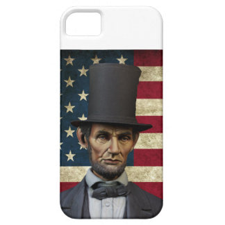 Capa Barely There Para iPhone 5 presidente lincoln