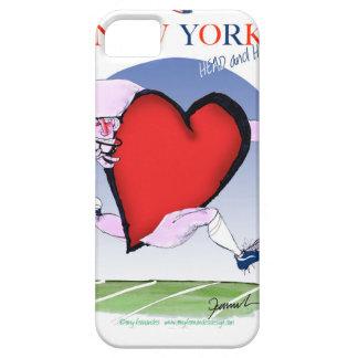Capa Barely There Para iPhone 5 Principais de New York e coração, fernandes tony