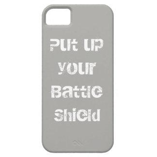 Capa Barely There Para iPhone 5 Protetor da batalha pronto para a ação