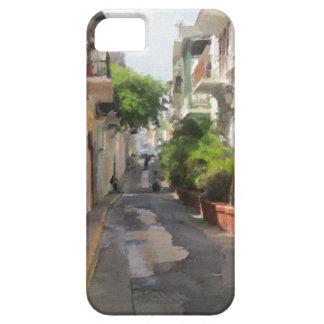 Capa Barely There Para iPhone 5 Quieto pouca rua de Puerto Rico