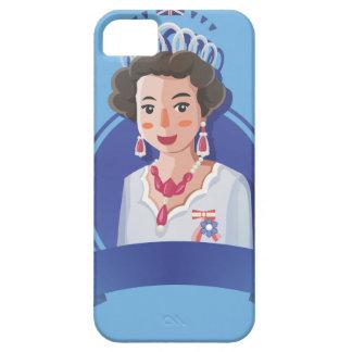 Capa Barely There Para iPhone 5 rainha elizabeth 2