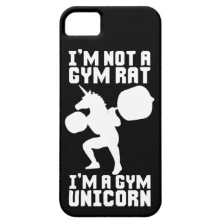 Capa Barely There Para iPhone 5 Rato do Gym contra o unicórnio do Gym - inspiração