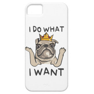Capa Barely There Para iPhone 5 REI Villi do PUG