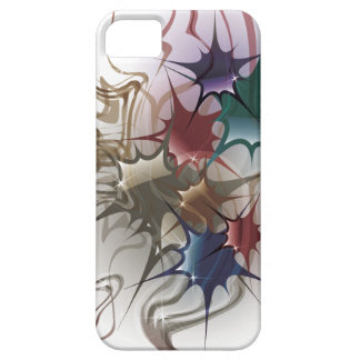 Capa Barely There Para iPhone 5 Respingo colorido na moda da tinta