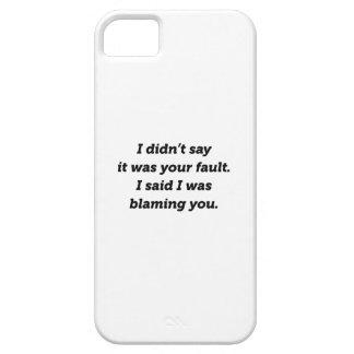 Capa Barely There Para iPhone 5 Responsabilizando o