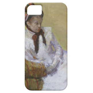 Capa Barely There Para iPhone 5 Retrato do artista - Mary Cassatt