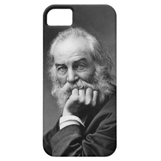 Capa Barely There Para iPhone 5 Retrato do poeta americano Walt Whitman