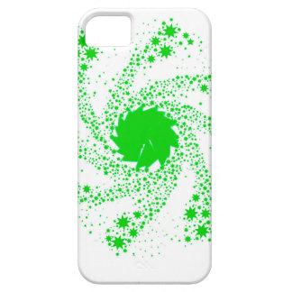 Capa Barely There Para iPhone 5 Roda verde do Pin