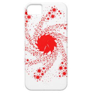 Capa Barely There Para iPhone 5 Roda vermelha do Pin