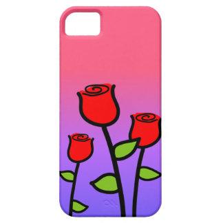 Capa Barely There Para iPhone 5 Rosas vermelhas
