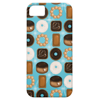 Capa Barely There Para iPhone 5 Rosquinhas azuis