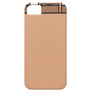 Capa Barely There Para iPhone 5 Saco de papel